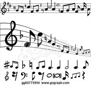 (B23) Music Staff & Notes