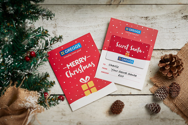 4/12/18 - Greggs Christmas Wrapping and Sticking Fillers