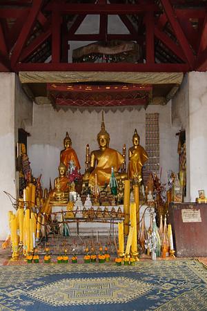 Wat Chom Si, Mount Phou Si, Luang Prabang