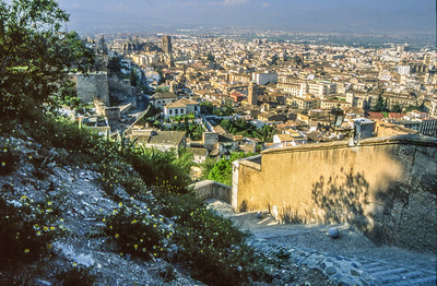 Granada City vom Albaicín