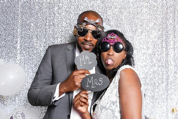 Tisha's wedding