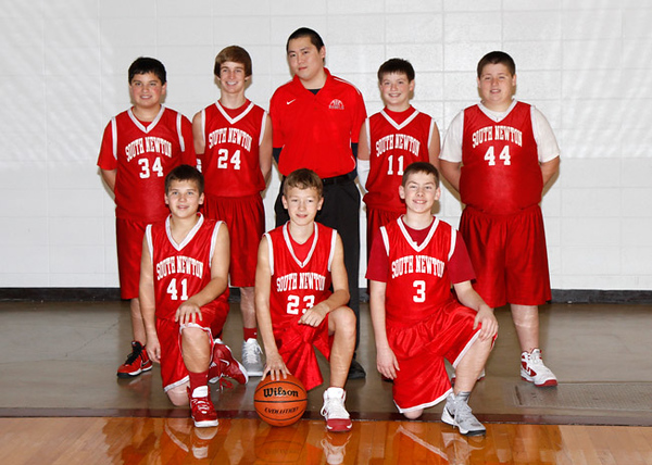 SNMS Boys Basketball 2011