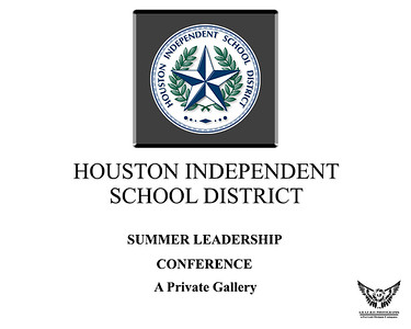 HISD Summer Leadership Conference