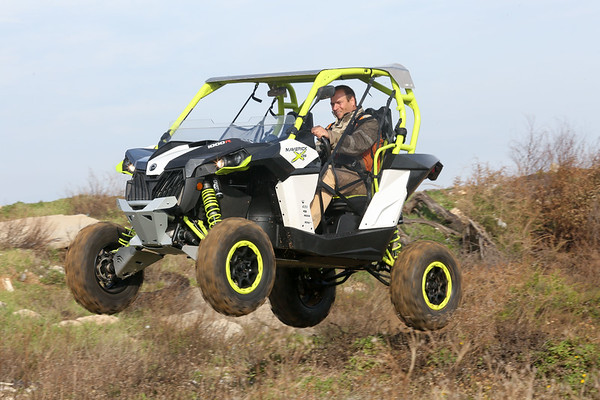 150119 | Can Am Maverick XDS & XDS Turbo / Press Driving Event