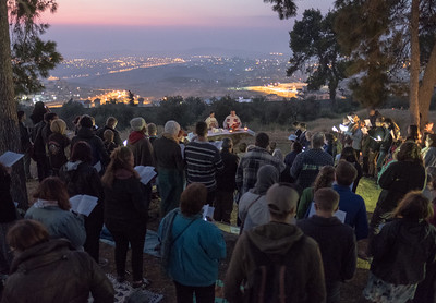 2017 Easter sunrise service