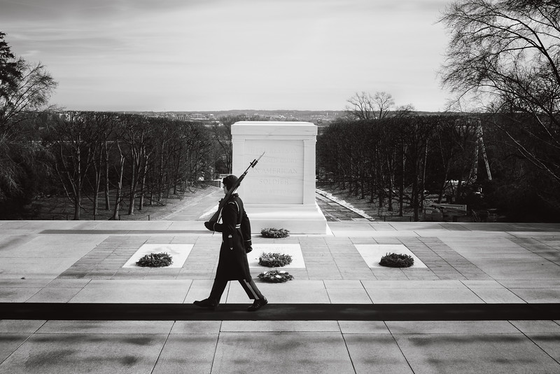 Changing of the Guards at the Tomb of the Unknown Soldire