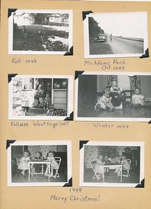Connie's photo album 1947 - 1963
