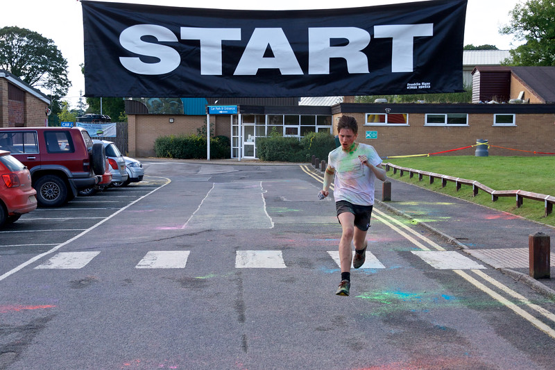 First runner home