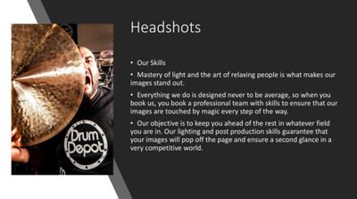 Stuff For Headshots