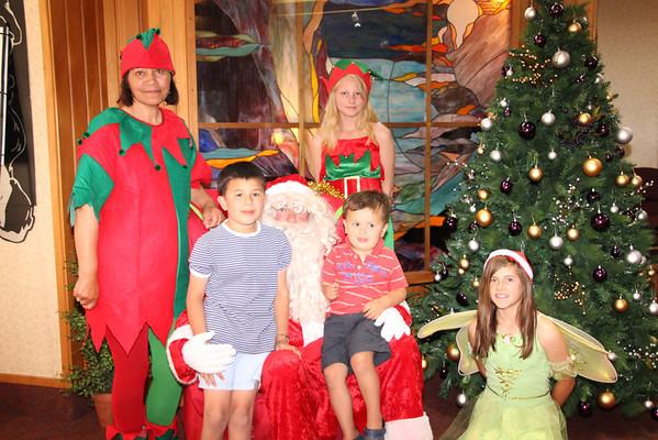 Santa's Grotto 13 Dec 2013