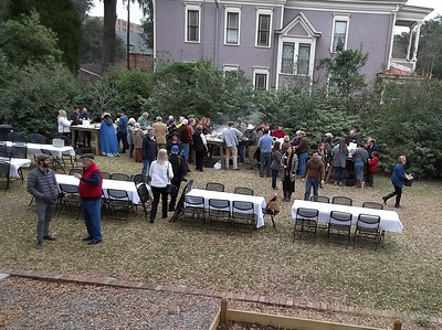 2019-02-10 Oyster Roast Jim Gardner's Drone Pics