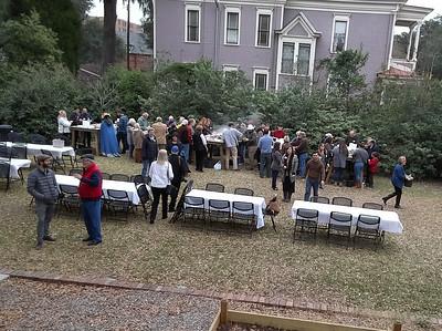 2019-02-10 Oyster Roast Jim Gardner's Drone Pics