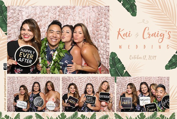 Kai & Craig's Wedding (Mini LED Open Air Photo Booth(
