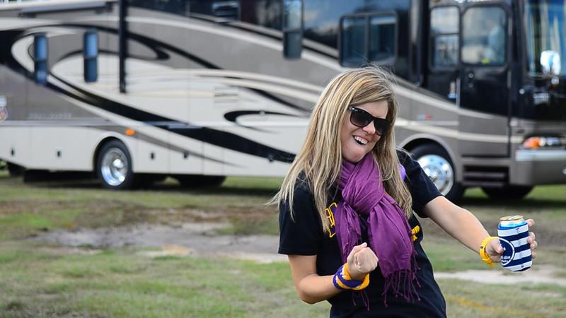 10/1/2011 ECU vs North Carolina  Jen