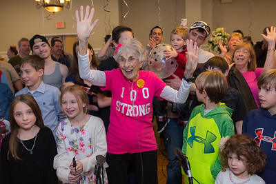 Fran's 100th Birthday Party
