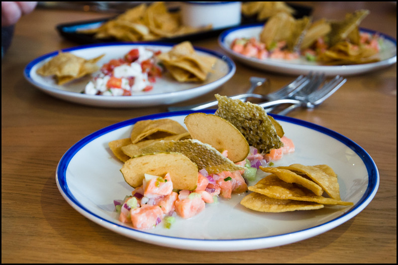Salmon ceviche - Sons of Baja