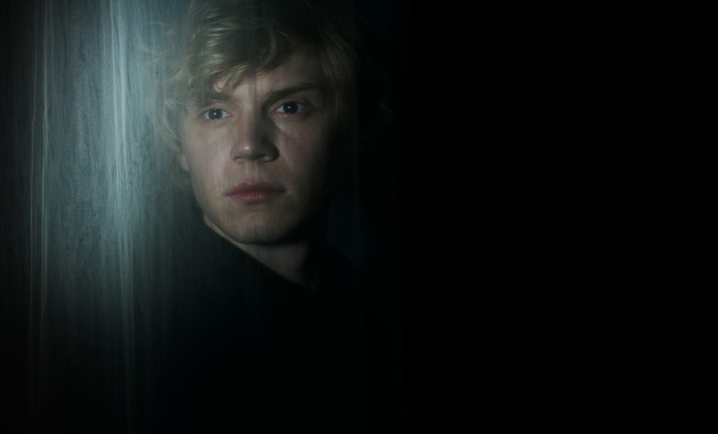 . Evan Peters as Kyle in American Horror Story: Coven. (Photo by Frank Ockenfels/FX)