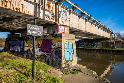 Barnby Dun canal January 2020