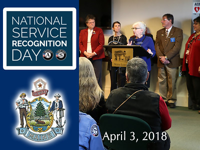2018 Maine National Service Recognition Day