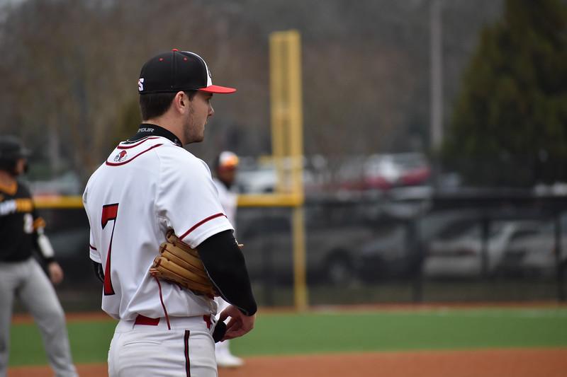 GWU Baseball faced App State on February 16.