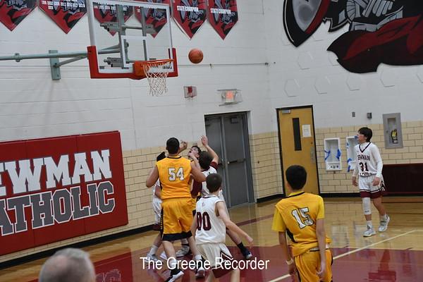 JJV Basketball Boys at Newman
