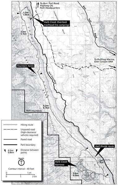 Capitol Reef National Park (Halls Creek Area Trails)