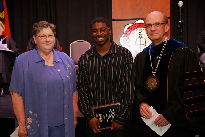 58th Academic Awards Day; April 30, 2013. F. Keith Griggs Student Leadership Award