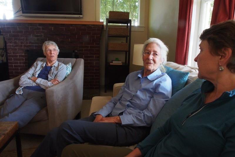 Pat Byrd, Linda Oppen, Becky Butler