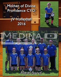 MDPCYO JV B Volleyball Team Photos