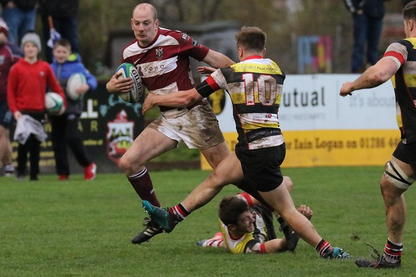 Stirling County RFC v Watsonian FC