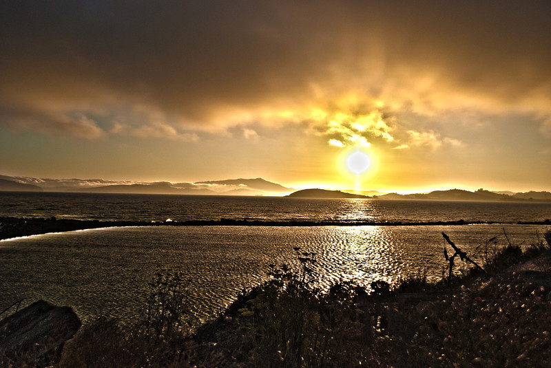 HDR Sunset Overload from Albany Bulb