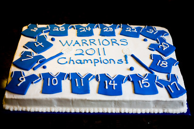 2011 Warriors Team Party