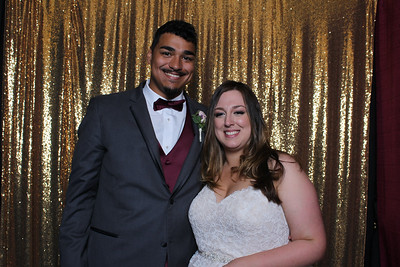 2017-10-15 Amy and Michael's Photo Booth Pics