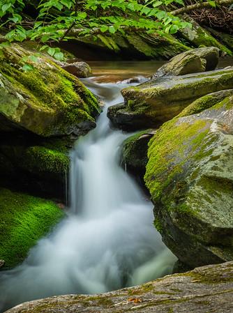 Catawba Falls, Old Fort, North Carolina - 2021