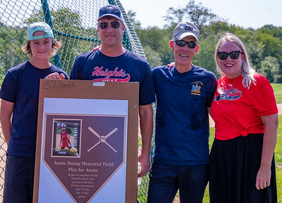 Annie Young Field Dedication