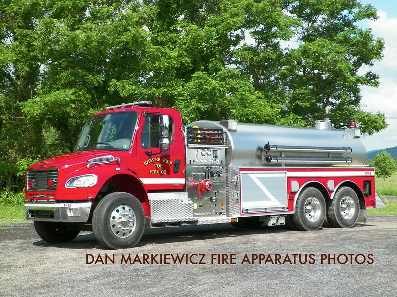 BEAVER TWP. FIRE CO. TANKER 142 2011 FREIGHTLINER/BLUEGRASS TANKER