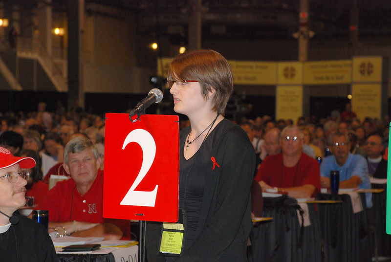 Voting Member speaking against a CWA amendment.