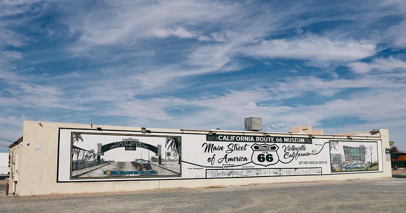 Route 66 - Victorville, California