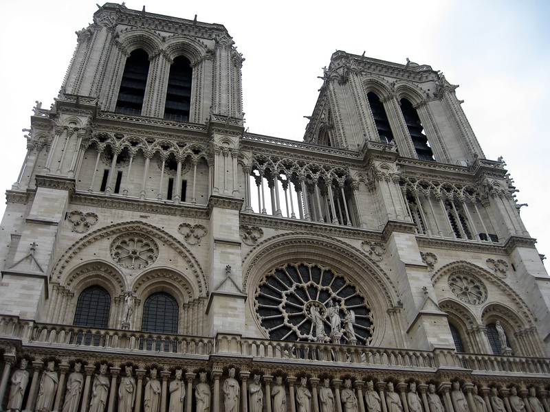 Notre Dame de Paris, one of the first Gothic cathedrals in the world