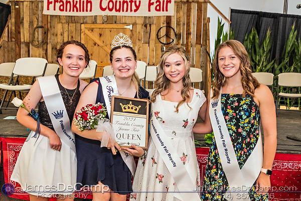 2021 Franklin County Fair Royalty