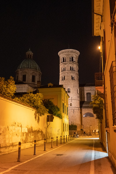 Ravenna at night