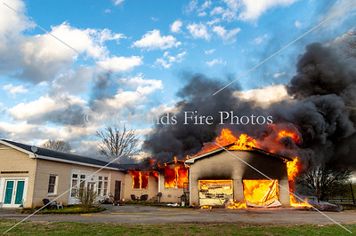20190315 - Unincorporated Mount Juliet - House Fire