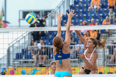 2015-07-14- Beach Volleyball - Women - Canada vs Puerto Rico