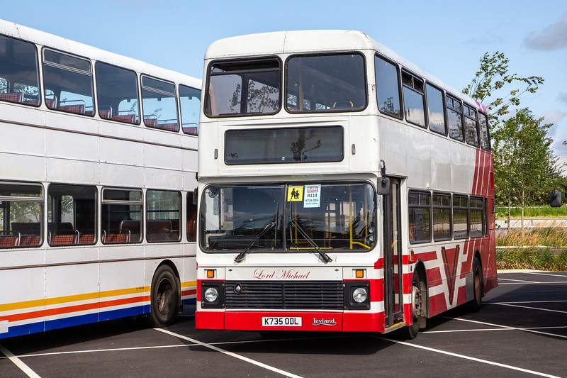 1993 Leyland Olympian Northern Counties ex-Southern Vectis