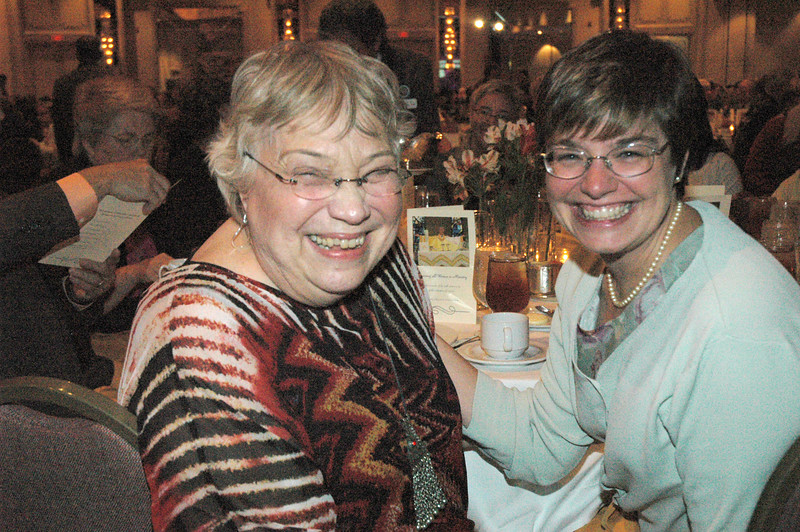 Joanne Chadwick, Executive Director, Commission for Women, and Ann Tiemeyer (Metro New York) former chair of the Commission for Women Steering Committee