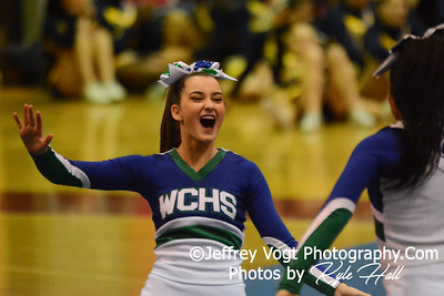 11-15-2014 Churchill HS Varsity Cheerleading at Blair HS MCPS Championship, Photos by Jeffrey Vogt Photography with Kyle Hall