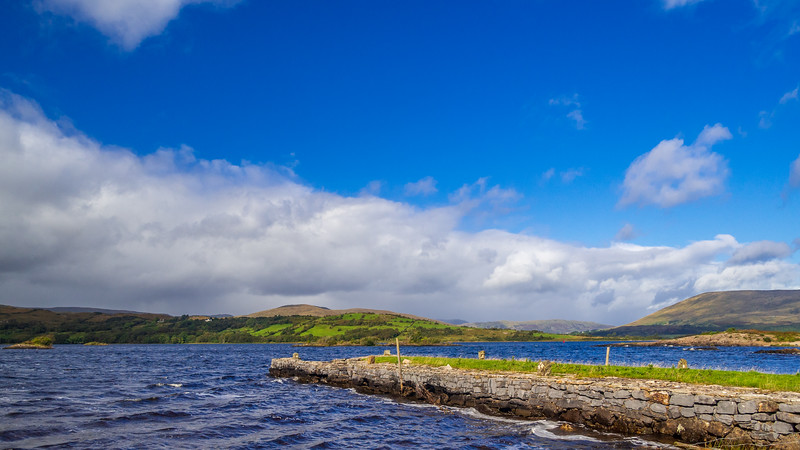 Lough Corrib at Hill of Doon