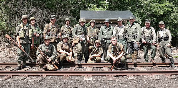 Rails to Victory Fox Valley Trolley Museum 2016