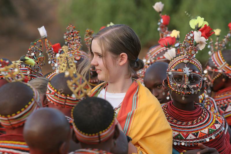 Audrey with Samburu Girls at Goat Ceremony RCC 244.jpg