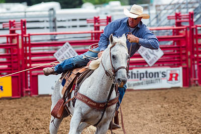 Tuesday: Slack Tie-Down Roping